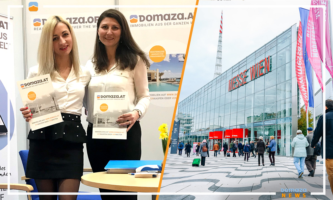 The international property platform Domaza.org attracts European and Austrian buyers and investors at WIM-2018, Austria
