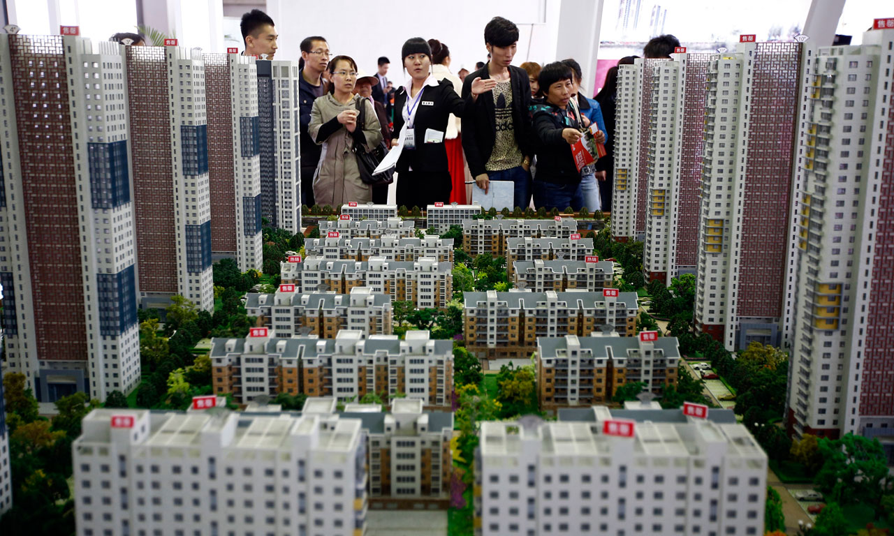 Chinese property market slows down