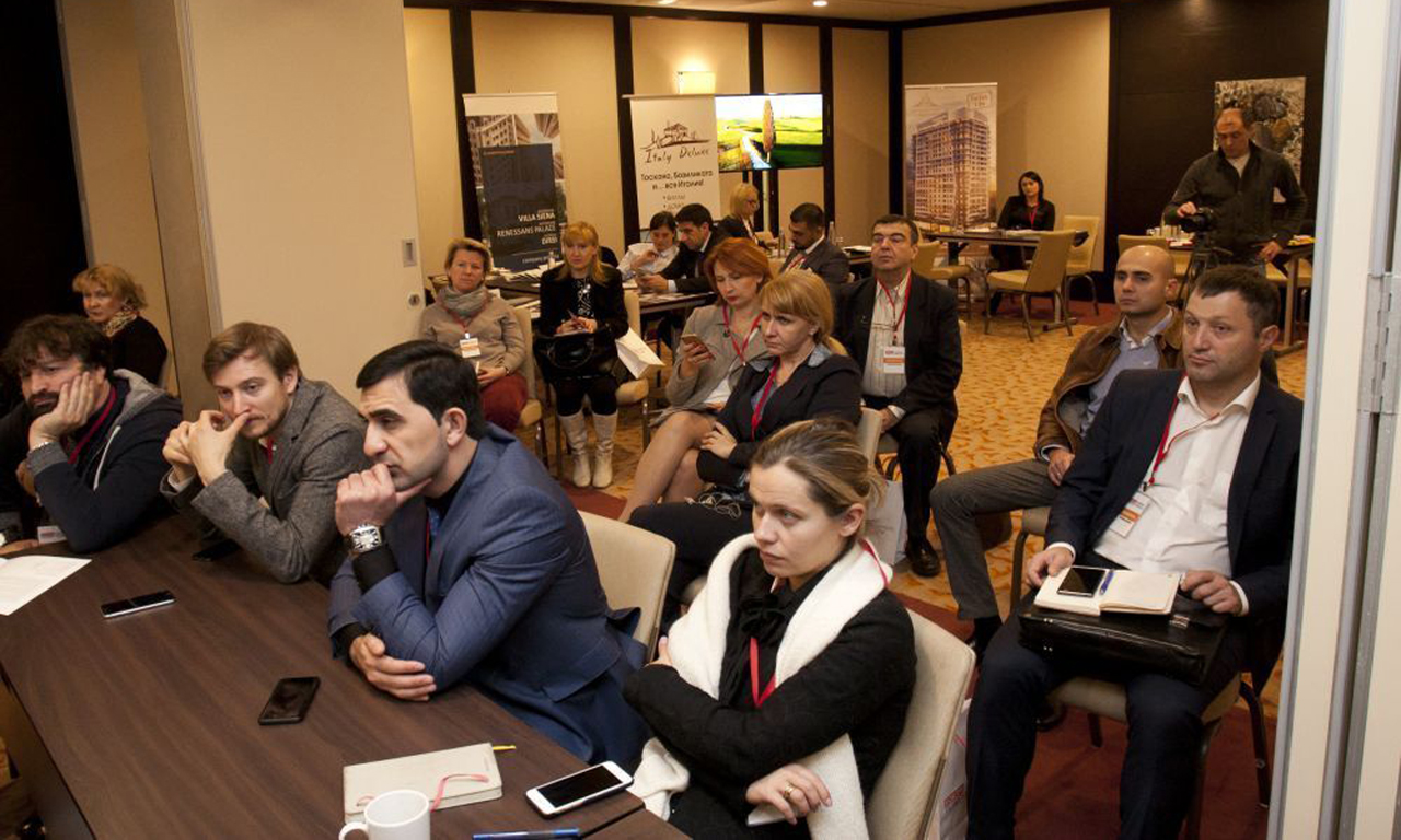 THE AUTUMN EXHIBITION - MOSCOW OVERSEAS PROPERTY SHOW - WAS HELD IN MOSCOW!